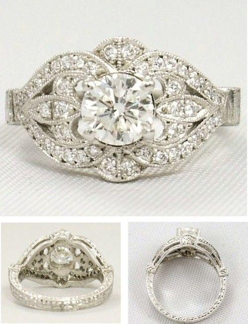 anillos de estilo vintage Comprar anillos de compromiso