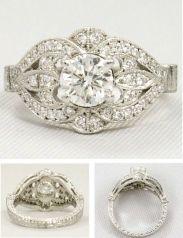 11 anillo compromiso - en el pais de las bodas