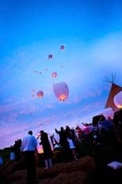 3 lamparas de luz - en el pais de las bodas