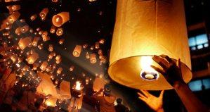 6 lamparas de luz - en el pais de las bodas