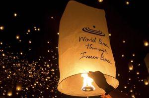 5 lamparas de luz - en el pais de las bodas
