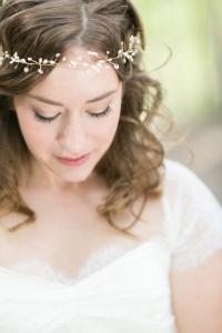 5 tocado para novia - en el pais de las bodas