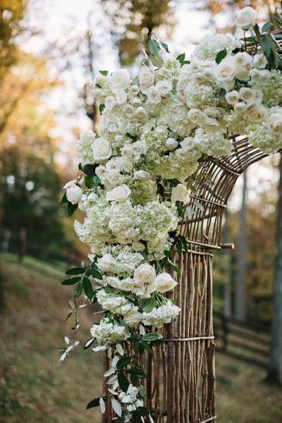 en el pais de las bodas - decoracion con calabazas