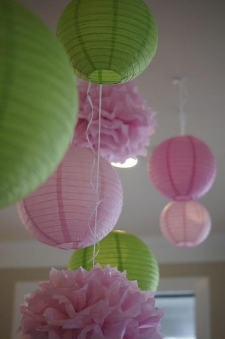 Diy decora tu boda con l mparas de papel de ikea en el - Lamparas de papel ikea ...