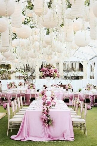 decoracion lampara de papel ikea - en el pais de las bodas6