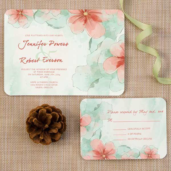 invitaciones de boda caligrafia