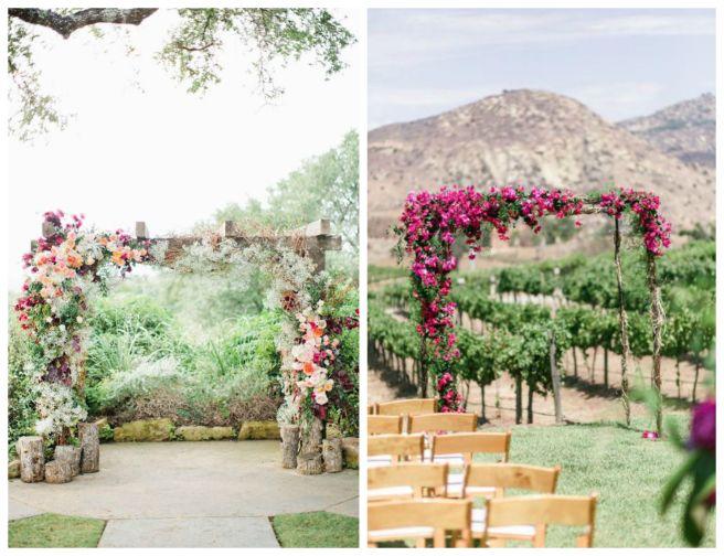 6 decoracion bodas vino