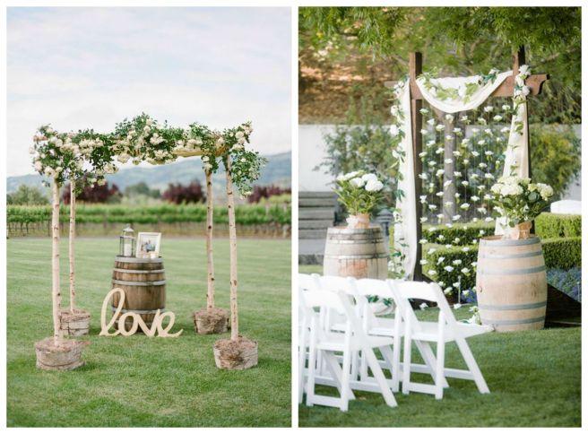7 decoracion bodas vino