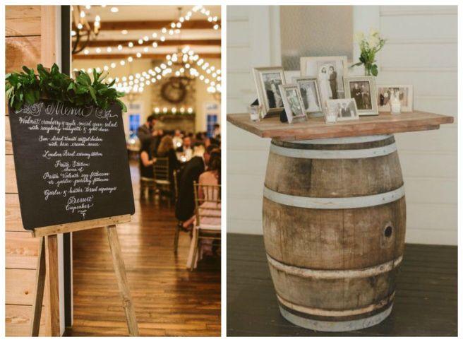 8 decoracion boda vino