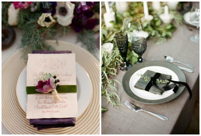 4 terciopelo para bodas