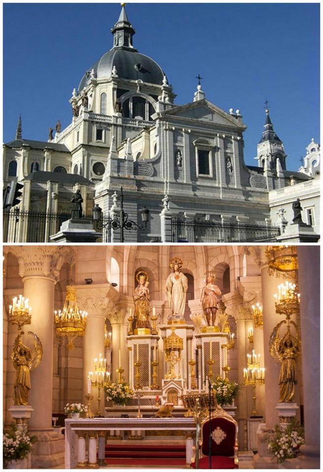 catedral de la almudena - en el pais de las bodas