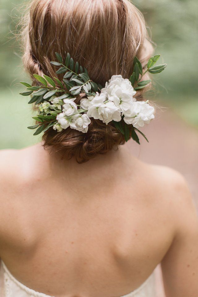 moño con flores16