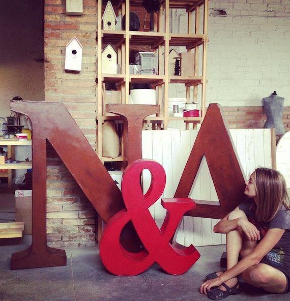 letras gigantes 16