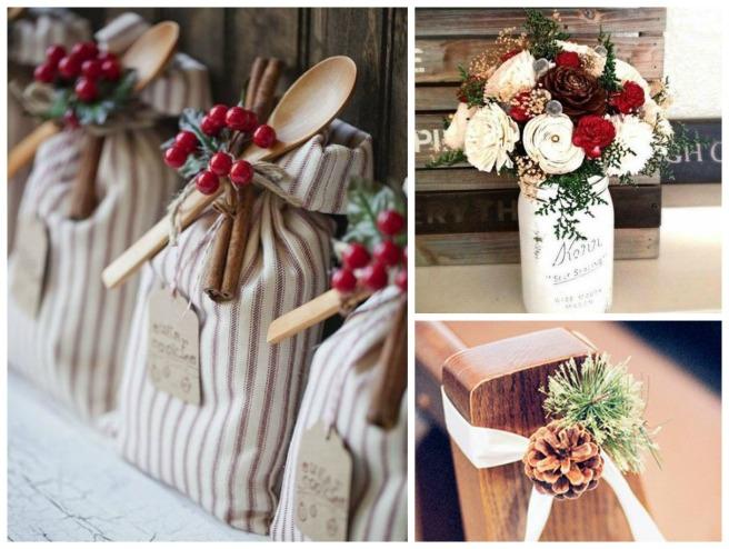 5 decoracion navidad bodas