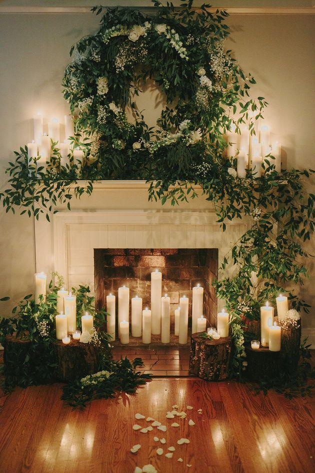 decoracion navideña bodas