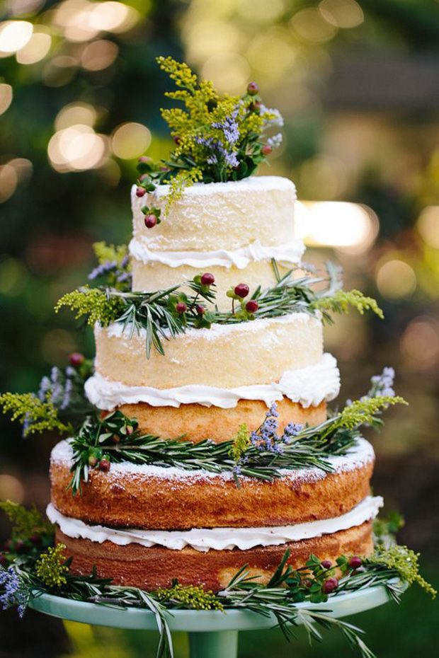 rustic naked cake10