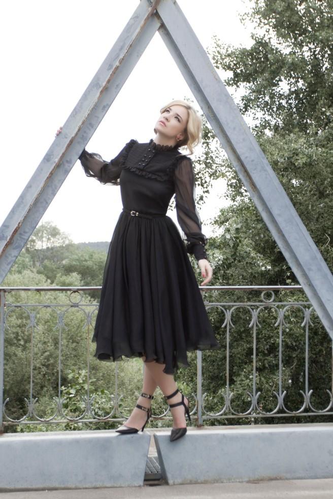 Vestido Gredel. Foto: Olivia de Gala.